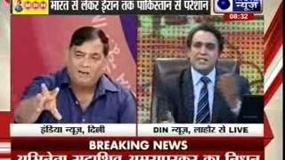 Tonight with Deepak Chaurasia: Sarhad Aar-Paar Live from Pakistan - ITVNEWSINDIA