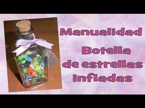 Manualidades - Estrellitas de papel infladas - Milycreativity