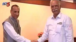 Governor Narasimhan Met with Ashok Gajapatji Raju : TV5 News - TV5NEWSCHANNEL