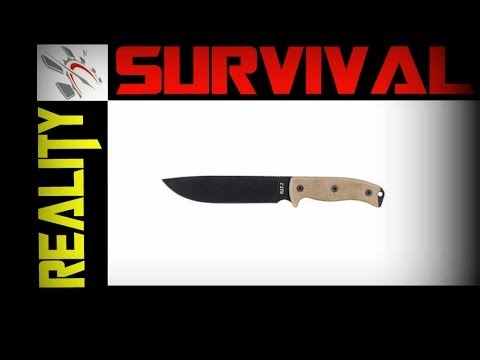 Best Wilderness Survival Knife - ONTARIO RAT 7