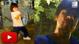 (Video) Shahrukh Khan AbRam PARTY On The Streets!! | LehrenTV