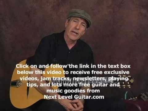 Gypsy Jazz rhythm swing strumming &amp; chords guitar lesson jazz manouche