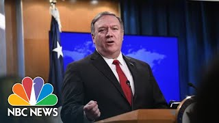 Secretary of State Mike Pompeo Announces Expansion Of Ban On Foreign Aid For Abortion | NBC News - NBCNEWS
