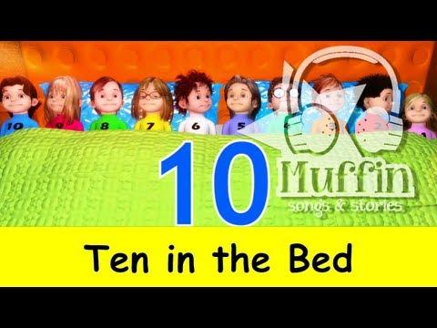 Muffin Songs – Ten in the Bed (Ten in a Bed) Tekerlemeler ve İngilizce Çocuk Şarkıları