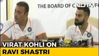 """""""Bizarre"""": Virat Kohli On Ravi Shastri Being Called A Yes Man - NDTV"""