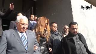 بالفيديو..رد فعل زينة على خبر خطوبة أحمد عز