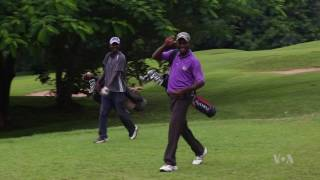 Nigeria's 'Queen of Golf' Trains Her Potential Successors - VOAVIDEO