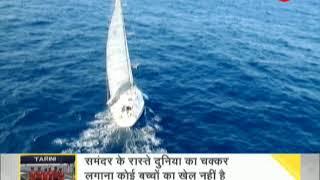 DNA: All-women crew of INSV Tarini reach Goa after circumnavigating globe for 254 days - ZEENEWS