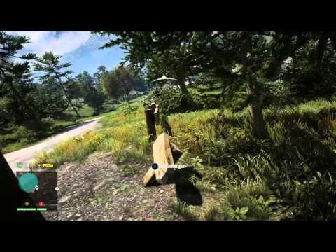 Umut sisman- Far Cray 4 de hayvanlarla mucadele ve askerlerle sıcak çatışma