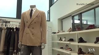 Famous Italian Designer Touts Vision of Humanistic Capitalism - VOAVIDEO