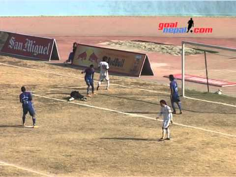 NMB Bank Machhindra Fc Vs Simrik Saraswoti Youth Club