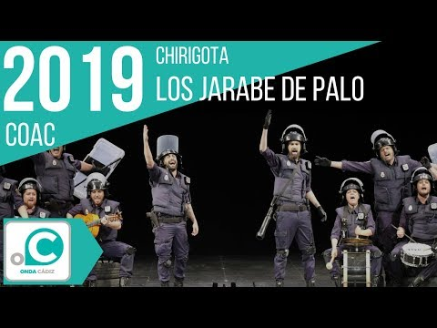 Sesión de Cuartos de final, la agrupación Los jarabe de palo actúa hoy en la modalidad de Chirigotas.
