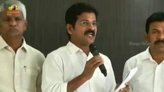 TTDP Leader Revanth Reddy Slams TRS Government Over Sand Mafia In Karimnagar | Telangana | MangoNews - MANGONEWS