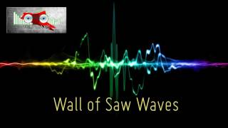 Royalty Free :Wall of Saw Waves