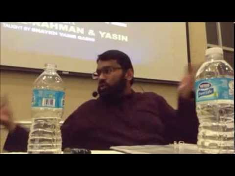 *The Denial* Tafsir of Surah Yasin [Yasir Qadhi] 1 of 4