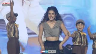 Aakanksha Singh Dance Performance @ Devadas Audio Launch | Akkineni Nagarjuna, Nani - ADITYAMUSIC
