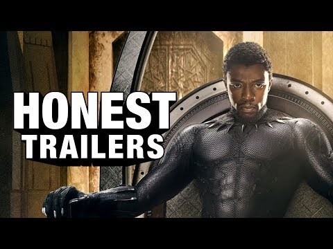Honest Trailers - Black Panther - يوتيوبات