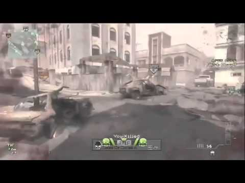 MW3 Sick 360 No Scope Across Map!