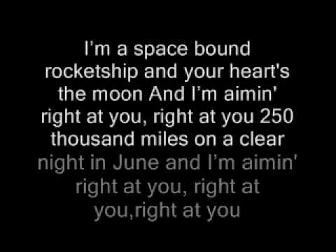 Eminem Space Bound Lyrics