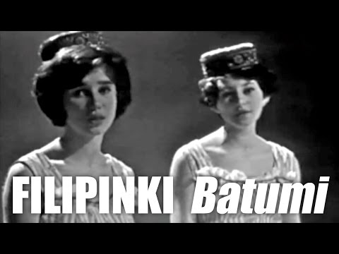 """Oryginalny teledysk do piosenki """"Batumi"""" nagrany w studiu telewizyjnym w Rostocku."""