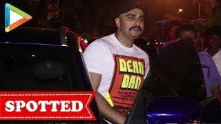 Arjun Kapoor SPOTTED at Bayroute Restaurant, Juhu - HUNGAMA