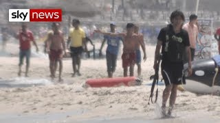Special Report: Terror on the beach - SKYNEWS