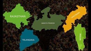 IndiaNews exit Poll Results 2018: 5 राज्यों के Counting से पहले इन आंकड़ों ने उलझे गणित को और उलझा - ITVNEWSINDIA