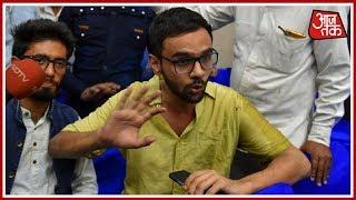 Umar Khalid के हमलावर ने Delhi Police के High Alert की उड़ाई धज्जियाँ ! दस्तक - AAJTAKTV