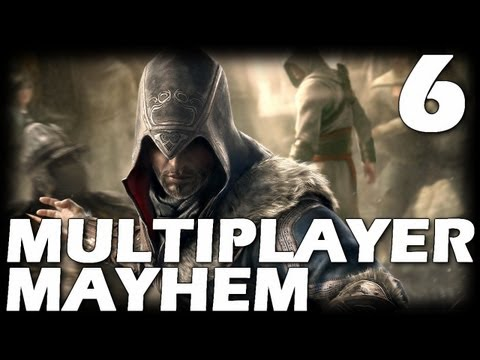 Assassin's Creed: Revelations Multiplayer Mayhem - Episode 6 (Deathmatch Gameplay Commentary)