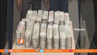 Police Size 40 Lakhs Worth Cash In Hyderabad | 2 People Arrest | iNews - INEWS