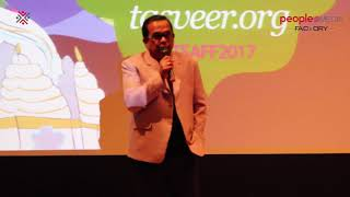 Brahmanandam Felicitation in 12th South Asian Film Festival, Seattle - idlebrain.com - IDLEBRAINLIVE