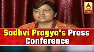 Main gayi thi, dhancha toda tha, bhavya mandir banane jaungi: Sadhvi Pragya - ABPNEWSTV