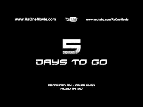 5 Days to go - Ra.One