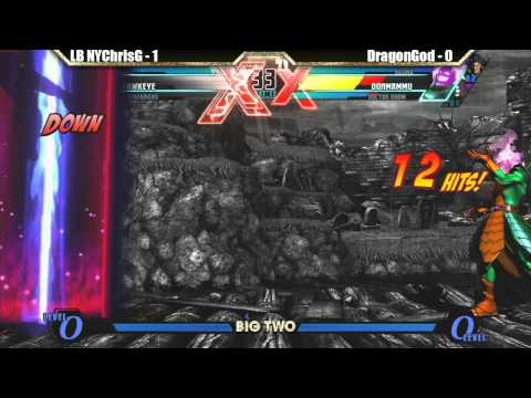 LB NYChrisG vs DragonGod Match - Big Two UMVC3 tournament
