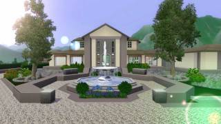The Sims 3 Mansion Design (Ranch) No custom Content
