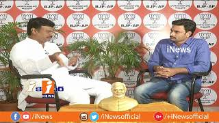 BJP MLC Madhav Exclusive Interview | AP Special Status | iCounter | iNews - INEWS