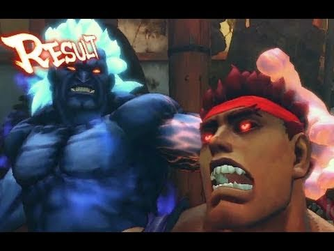 Street Fighter 4 Arcade Edition: Oni vs Evil Ryu Trailer