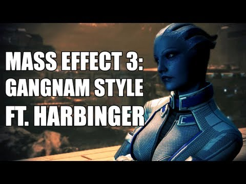 "Mass Effect 3: ""Assuming Control"" PSY - GANGNAM STYLE (ft. Harbinger)"