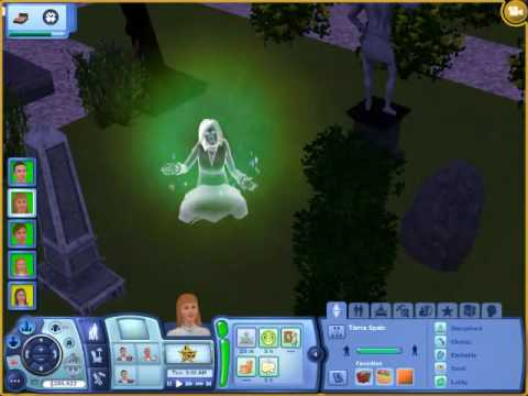 Sims 3 How to make The Most Powerful Ghost Ever
