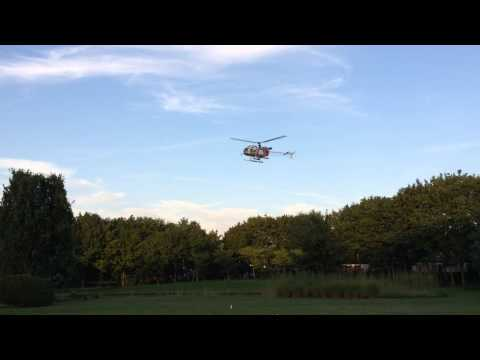 Lama Helicopter testrun from Pahl turbine na overhaul flight by Rcheliparts
