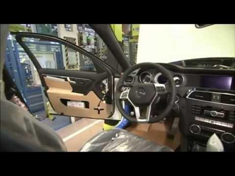 مصنع شركة مرسيدس بنز من الداخل طريقة صنع السيارات - صوت وصوره لايف
