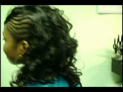 Sew in with Braids On the Side