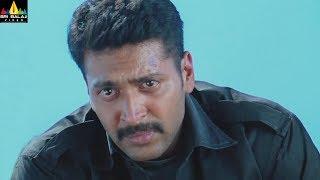 Ranadheera Movie Jayam Ravi Car Accident Scene | Telugu Movie Scenes | Dhansika | Sri Balaji Video - SRIBALAJIMOVIES