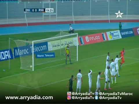 الدفاع الحسني الجديدي 0-1 النهضة البركانية هدف أيوب الكعبي في الدقيقة 20.