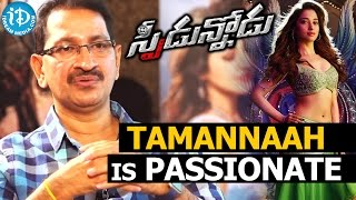 Tamannaah Is Passionate - Bheemaneni Srinivas Rao || Talking Movies with iDream - IDREAMMOVIES