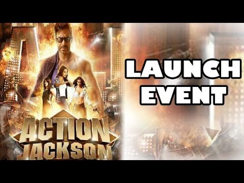Action Jackson trailer launch event   Ajay Devgan & Yami Gautam cloned