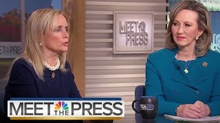 Full Comstock & Dingell: 'I Don't Know A Woman That Doesn't Have A Story' | Meet The Press |NBC News - NBCNEWS