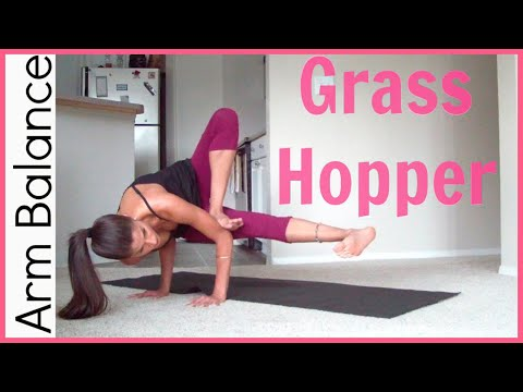 How to Do the Grasshopper Pose