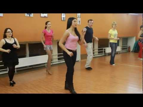 Видео танцевального урока по сальсе у Генриетты Фечовой