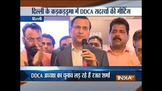 I will work for corruption-free and transparent DDCA: Rajat Sharma ahead of DDCA polls - INDIATV